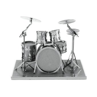 Harga Fascinations Metal Earth Rock Band Drum Set