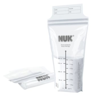 Harga NUK Seal and Go Breast Milk Bags