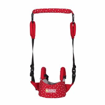 Harga Baby Walking Assistant Learning Walk Assistant Safety Baby Harnesses Moon Baby Walkers (Red) - intl