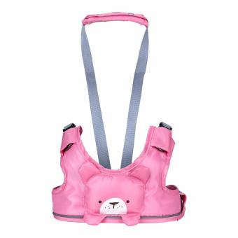 Harga Baby Harness Backpack Leash Toddler Walker Leashes Child Safety Reins Baby First Walker (Pink) - Int'l