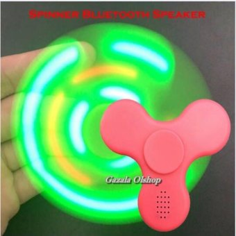 Harga HAND FIDGET SPINNER SPEAKERS / SPINNER BLUETOOTH TERBARU - Mainan Tangan Fidget Spinner Speaker
