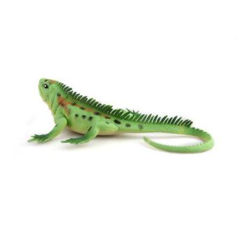 WiseBuy Green New Fake Lizard Prop Plastic Figure Prank Joke Chameleon Toy 3