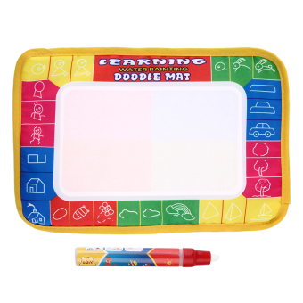 Harga Allwin Baby Water Drawing Painting Writing Mat Board & Pens Doodle Games Kids Toys