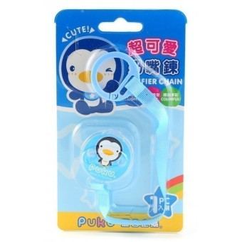 Harga Puku Pacifier / Soother Clipper - Blue