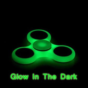 Harga Lucky Fidget Spinner Glow in The Dark Hand Spinner Toys Focus Games/ Mainan Spinner Tangan Penghilang Rasa Bosan Melatih Konsentrasi & Fokus Penghilang Kebiasan Buruk - Green