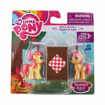 Harga My Little Pony Apple Bloom and Babs Seed