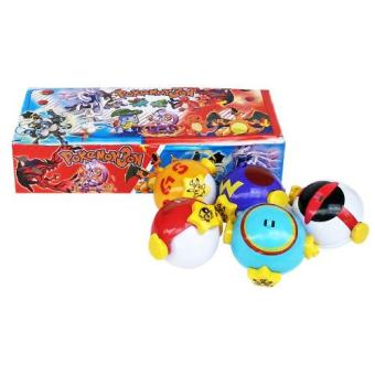 Harga TMO Pokeball Trap 7cm + Figurine 1pc