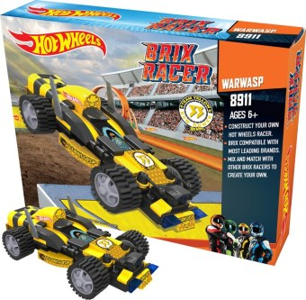 Harga EMCO Hot Wheels Brix Racer - Warwasp