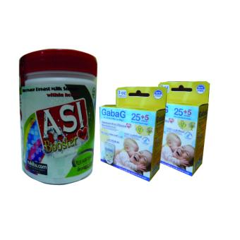 Harga Asi Booster Tea - Pelancar Asi (1 Pcs) + Kantong Asi Gabag New Born 100 ml (2 Pcs)
