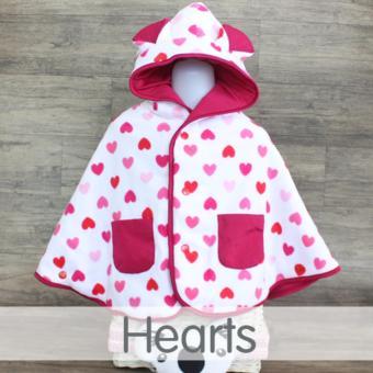 Cuddle Me Baby Cape - Jaket Multifungsi untuk Bayi Dan Balita - Hearts ...