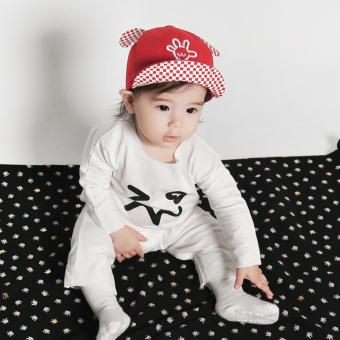 Bayi Laki Laki Baret Topi Bayi Perempuan Merah 2 .