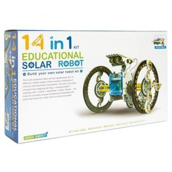 Harga Solar Kit 14 in 1 Solar Robot DIY Educational Kit
