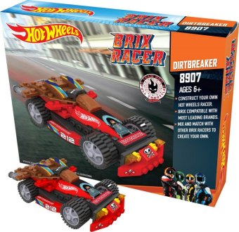 Harga EMCO Hot Wheels Brix Racer - Dirtbraker