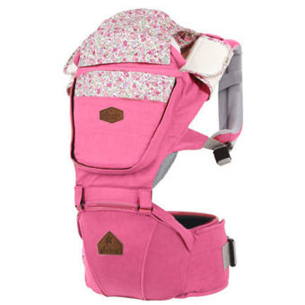 Harga AIEBAO A6602 Multifunctional Waist Belt Infant Hip Seat Baby Carrier (Pink) - intl