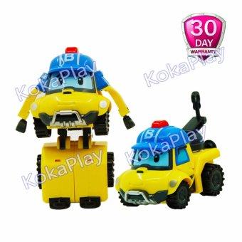 Robocar Poli Transformable Mainan Mobil Robot Berubah Bucky .