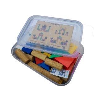 Boven Toys adalah produsen mainan edukatif . Source · Atham Toys Balok Bangun Kayu 42 S