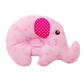 Harga Kiddy Baby Pillow Gajah - Bantal Peyang Pink