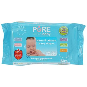 Harga Pure Baby Tissue Hand and Mouth Aloe Vera - VAP003
