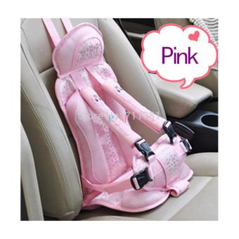 Harga Sakura Baby Safety Car Seat - PINK
