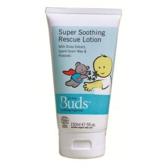 Buds Super Soothing Rescue Lotion 150ml - Lotion Penyembuh Eczema Organik ...