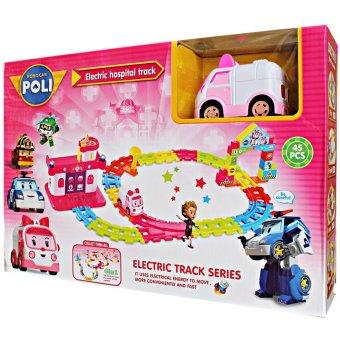 Robocar Poli Rail Track - Pink .