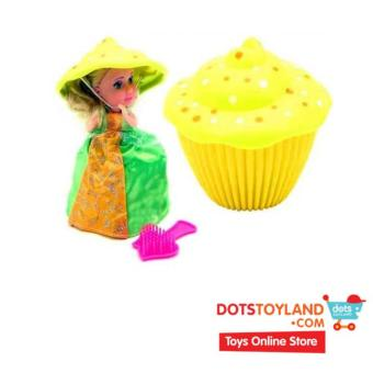 Harga Emco Cupcake Surprise Yellow (Lemon) - Boneka