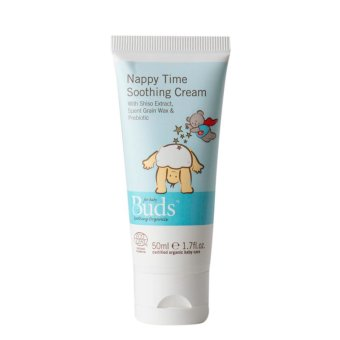 Buds Organic Nappy Time Soothing Cream 50ml