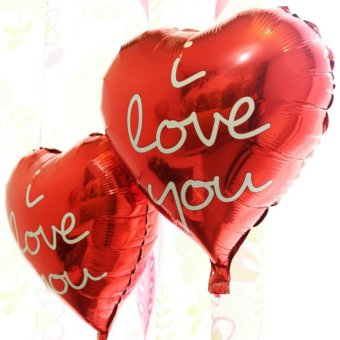 Harga Balon Foil Love Motif I Love You