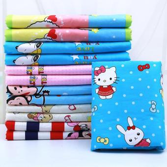 Harga 80CM*120CM Baby Adult Mat Diaper Urine Infant Covers Bedding Waterproof Travel Nappy Nursing Cotton Pads-Random - intl