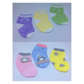 Harga Little Dots Baby Socks Little Duck & Penguin ( 2 Packs ) - Multicolor