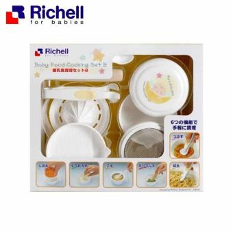 Harga Richell Baby Food Cooking Set B - Baby Food Maker