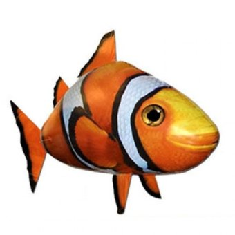 Harga Saige Air Swimmers / Flying Fish Nemo - Mainan Remote Control Balon Model Ikan Nemo