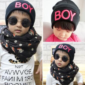 Putih Source · Balita Anak Bayi Perempuan Wol Rajutan Topi Tengkorak Hitam Naik .