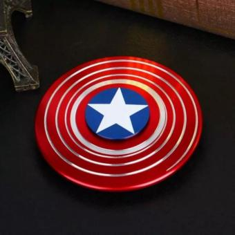 Leoshop888 Fidget Spinner Captain America