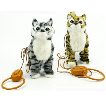 Harga MAO Electronic Walking Kitty Cat