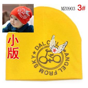 Harga New Baby Printed Spring Beanie Baby Cotton Hats Kids Cap Infant Spring Kids Cotton Beanie - intl