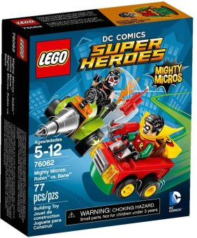 Harga Lego Super Heroes 76062 Mighty Micros : Robin vs Bane