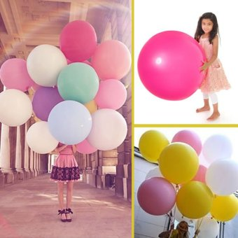 Harga Balon Latex Jumbo Campur 5 Pcs