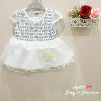 Harga Ayako Baby Little Bird Baby Girl Dress