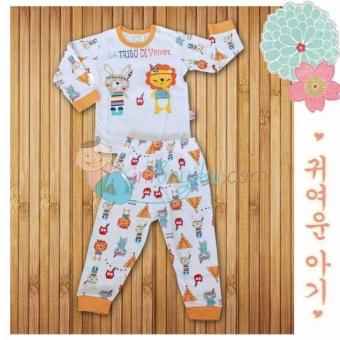 Harga Velvet Junior Rabbit Shirt Size S Color Orange Age 3m - 6m