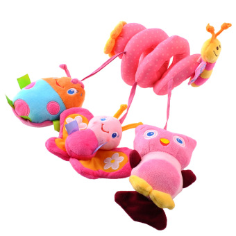 Harga Baby Kids Cot Spiral Hanging Decoration Butterfly Stroller Toys Gifts