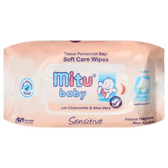 Harga Mitu Baby Pack Sensitive 50'S