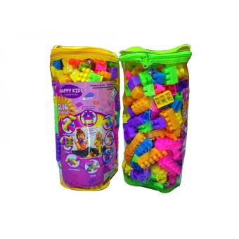 Harga Tomindo Happy Kids Block - 216 PCS