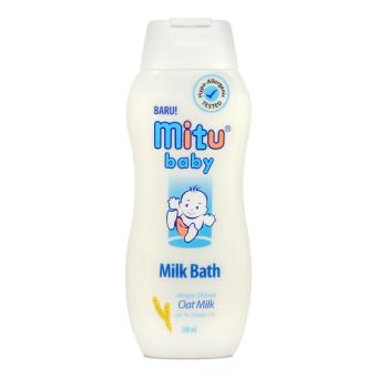 Harga MITU BABY MILK BATH BOTTLE 200 ML