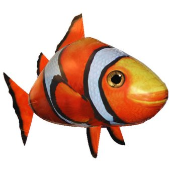 Harga Sugu Air Swimmers / Flying Fish Nemo - Mainan Remote Control Balon Model Ikan Nemo