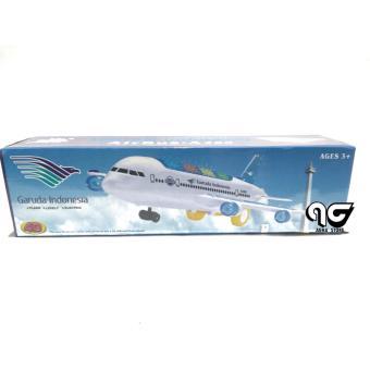Detail Gambar Kenz Mainan anak Airbus Pesawat Garuda Indonesia Terbaru