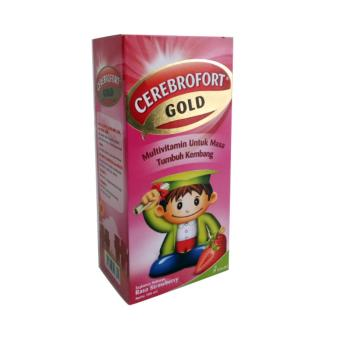 Harga CEREBROFORT GOLD STRAW/JERUK 100 ML