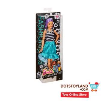Barbie Fashionistas Va-Va-Violet Original Doll - Boneka .