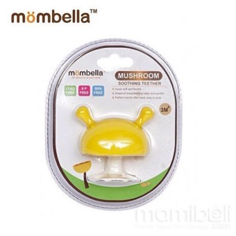 Harga MOMBELLA MUSHROOM SOOTHING TEETHER-LEMON