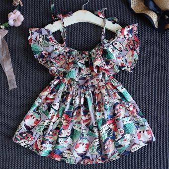 Harga Baby Kids Girls Toddler Princess Party Tutu Summer Floral Dress